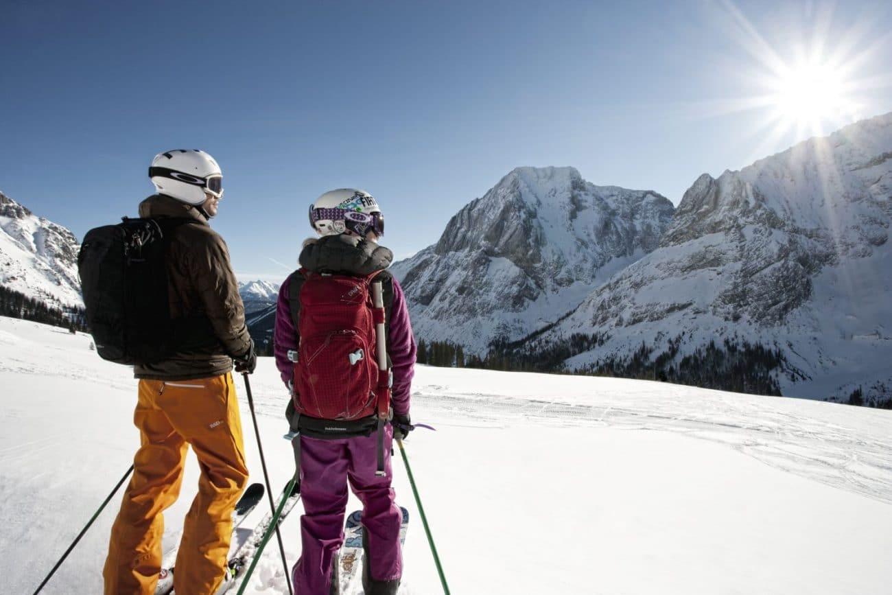 Skifahren in Tirol